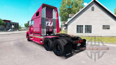 Haut Transco Lines inc. für Volvo truck VNL 670 für American Truck Simulator