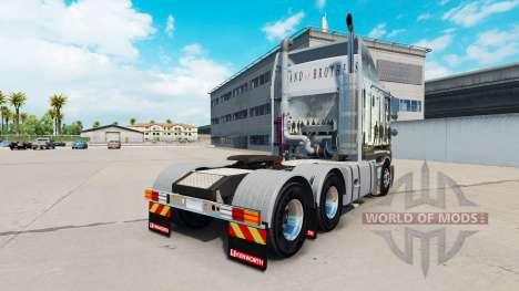 La peau de la Bande De Frères sur le tracteur Ke pour American Truck Simulator