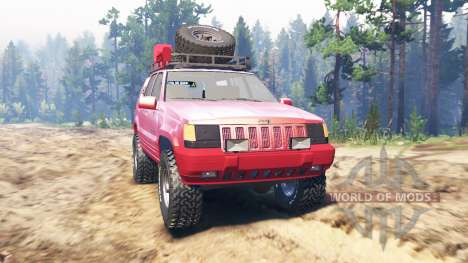 Jeep Grand Cherokee ZJ für Spin Tires