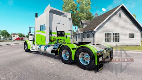 7 Benutzerdefinierte skin für den truck-Peterbil für American Truck Simulator