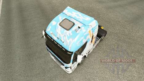 Haut Klanatrans v2.0 Iveco Traktor für Euro Truck Simulator 2