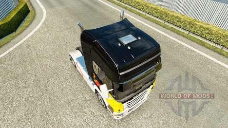 Red Bull skin für Scania-LKW für Euro Truck Simulator 2