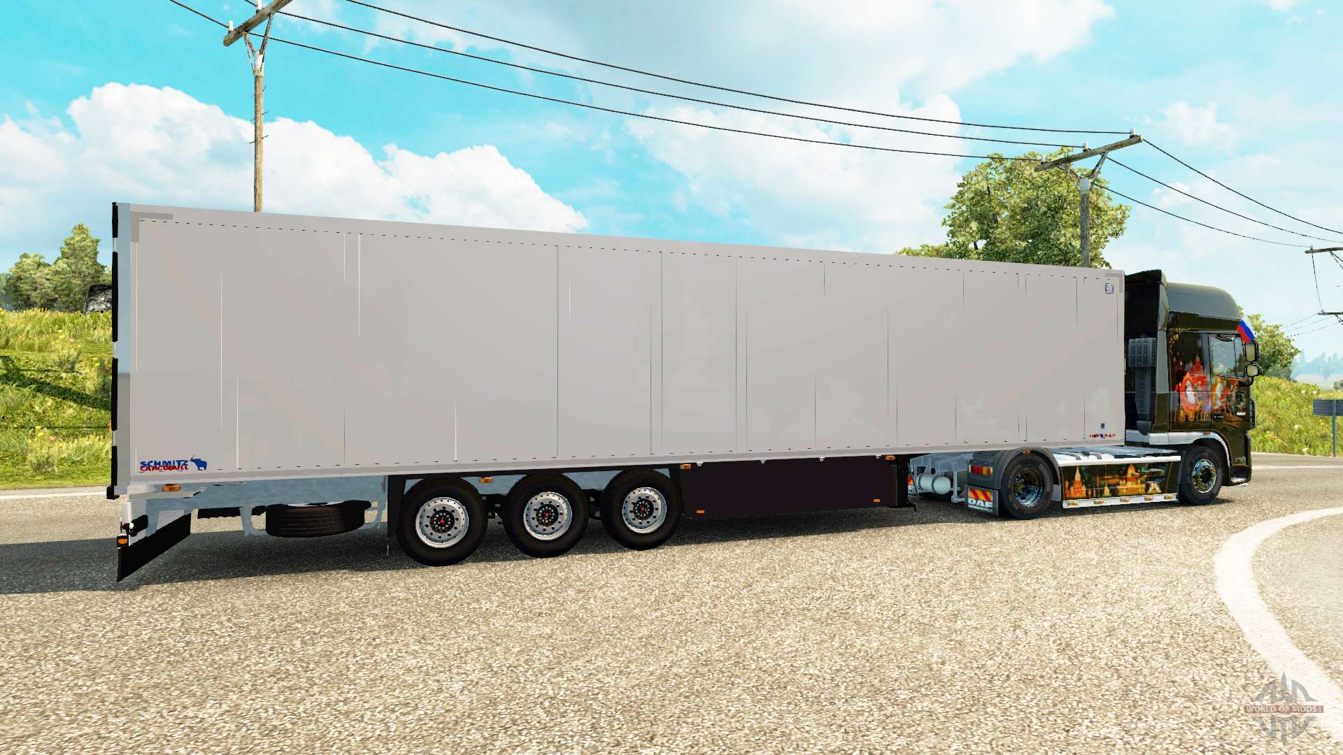 frigorifique semi remorque schmitz cargobull pour euro truck simulator 2. Black Bedroom Furniture Sets. Home Design Ideas