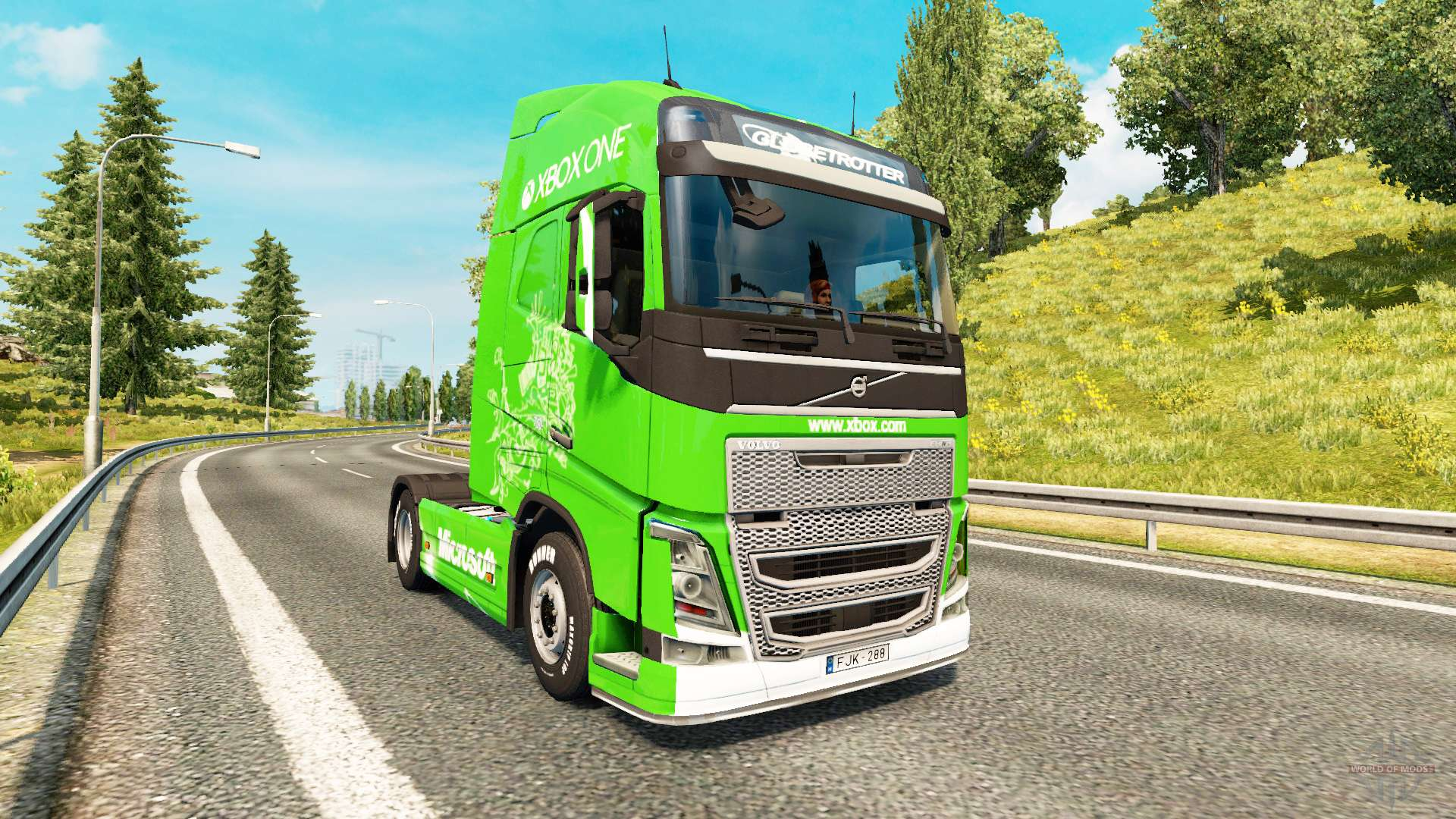 xbox one skin f r volvo lkw f r euro truck simulator 2. Black Bedroom Furniture Sets. Home Design Ideas