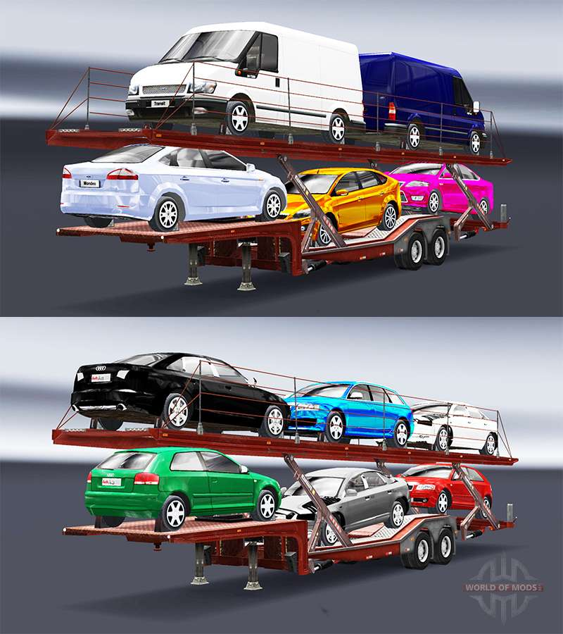 Car Carrier Trailer  Games