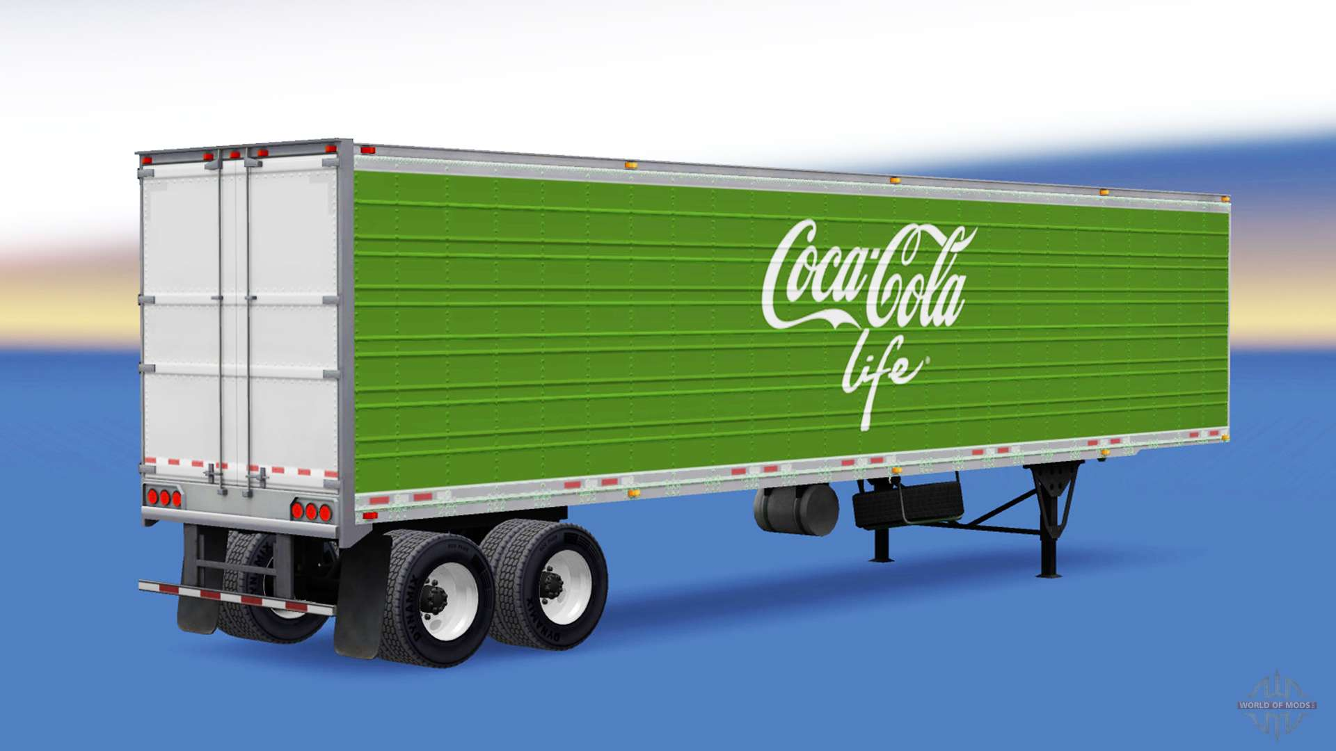frigorifique semi remorque coca cola life pour american truck simulator. Black Bedroom Furniture Sets. Home Design Ideas