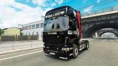 Les Pikas de la peau pour Scania camion