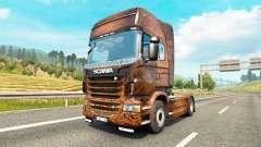 Ferrugem de la peau pour Scania camion