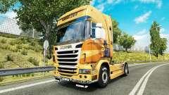 Rijke Tata-skin für den Scania truck
