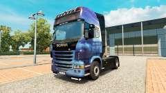 L'Effet de masse de la peau pour Scania camion