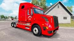 Haut-Home-Run für den truck-Volvo VNL 670