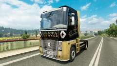 F1 Lotus de la peau pour Renault camion
