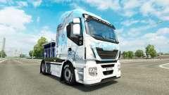 La peau Klanatrans v2.0 Iveco tracteur
