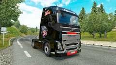 Iron Maiden peau pour Volvo camion