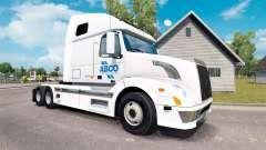 ABCO de la peau pour les camions Volvo VNL 670