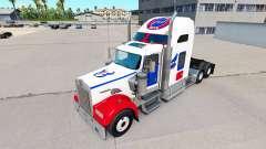 Les peaux de la NFL pour le camion Kenworth W900