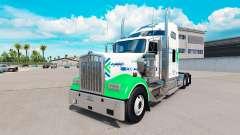 La peau All Star FJ Service sur le camion Kenwor