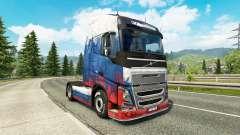 Russland Haut für Volvo-LKW