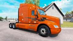 La peau Schneider National sur camion Peterbilt