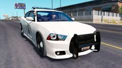 Dodge charger Police de la circulation