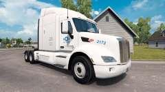 Etats-unis Camion de la peau pour le camion Pete