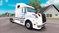Céladon de la peau pour les camions Volvo VNL 67