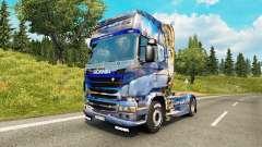 De la peau en hiver pour Scania camion