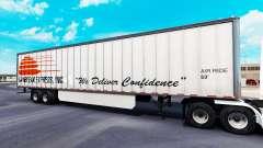 Haut Daybreak Express auf dem trailer