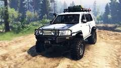 Toyota Land Cruiser 100 2000 [Samuray] v2.0