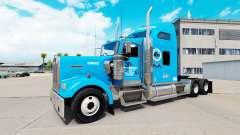 Gordon Camionnage de la peau pour Kenworth W900
