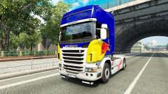 La peau de Red Bull v2.0 camion Scania