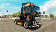 Le feu de la peau pour Volvo camion