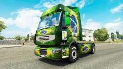 La peau Brasil 2014 pour tracteur Renault