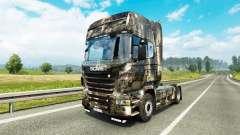 Haut Stadt an der Zugmaschine Scania