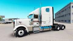 La peau sur les PAM Transport camion Freightline