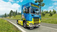 Tomka de la peau pour Scania camion