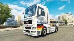 De la Bundeswehr, le skin for MAN truck