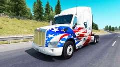 La peau etats-unis Camions de camion Peterbilt