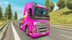 Dee Dee peau pour Volvo camion