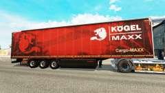 Vorhang semi-trailer Kogel maxx