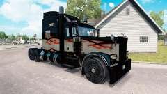 Haut Langstrecke für den truck-Peterbilt 389