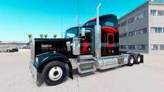 Skin Bitdefender tracteur Kenworth W900