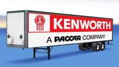 Tous métal-semi-remorque Kenworth