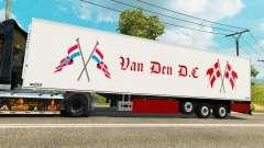 Semi-trailer-Kühlschrank Chereau Van Den D. C