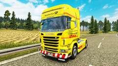 Haut DHL für Scania-LKW
