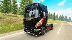 Haut Coca-Cola Zugmaschine Scania