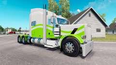 7 skin Personnalisé pour le camion Peterbilt 389
