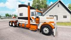 La peau de Big Shot sur le camion Peterbilt 389