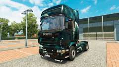 Raum-Szene-skin für den Scania truck