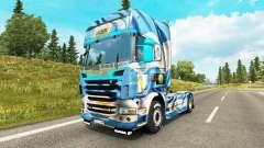 Die Argentinien-Copa 2014 skin für Scania-LKW